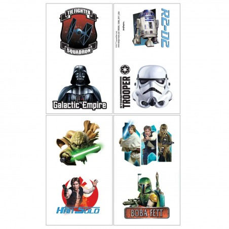 Star Wars Tattoos (Set of 8)