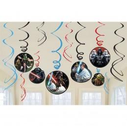 Star Wars Swirl Decorations (Set of 12)