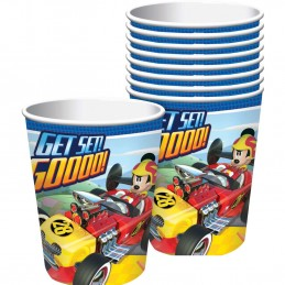 Mickey Mouse Roadster Paper Cups (Pack of 8)