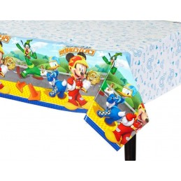 Mickey Mouse Roadster Plastic Tablecloth