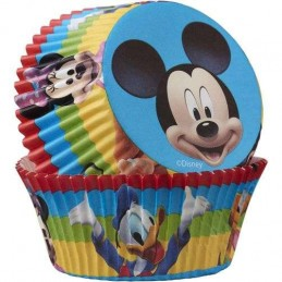 Mickey Mouse Baking Cups Patty Pans (Pack of 50)