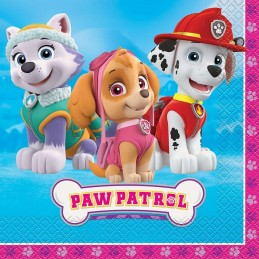 Paw Patrol Girls Large Napkins (Pack of 16)