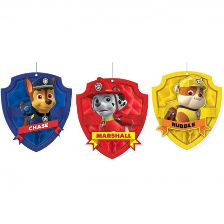 Paw Patrol Honeycomb Balls (Pack of 3)