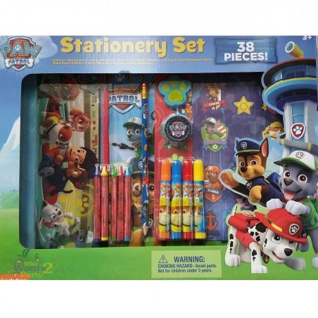 Paw Patrol 38 Piece Stationery Set