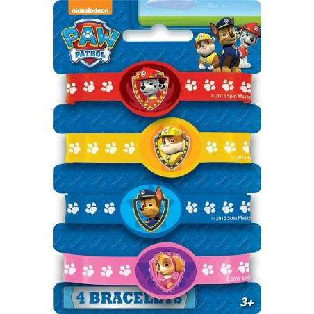 Paw Patrol Wristbands (Pack of 4)