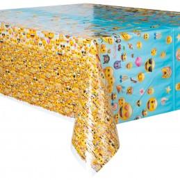 Emoji Plastic Tablecloth