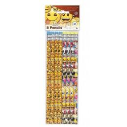 Emoji Pencils (Pack of 8)
