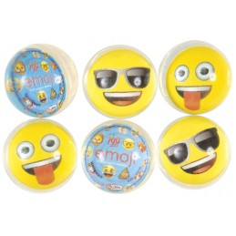 Emoji Bounce Balls (Pack of 6)