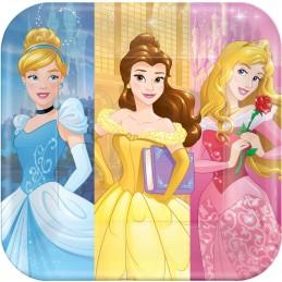 Disney Princess Dream Big Large Plates (Pack of 8)