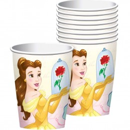 Disney Beauty and the Beast Paper Cups (Pack of 8)