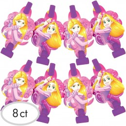 Disney Rapunzel Party Blowers (Pack of 8)