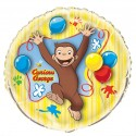 Curious George Jumbo Foil Balloon