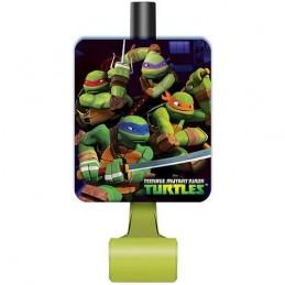 Teenage Mutant Ninja Turtles Party Blowers (Pack of 8)