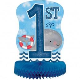 Nautical 1st Birthday Centrepiece