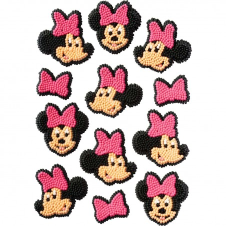 Minnie Mouse Icing Decorations (Pack of 12)