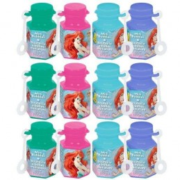 Ariel The Little Mermaid Mini Bubbles (Pack of 12)