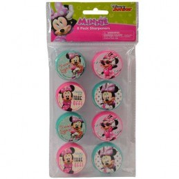 Minnie Mouse Sharpeners (Set of 8)