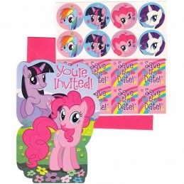 My Little Pony Party Invitations (Pack of 8)