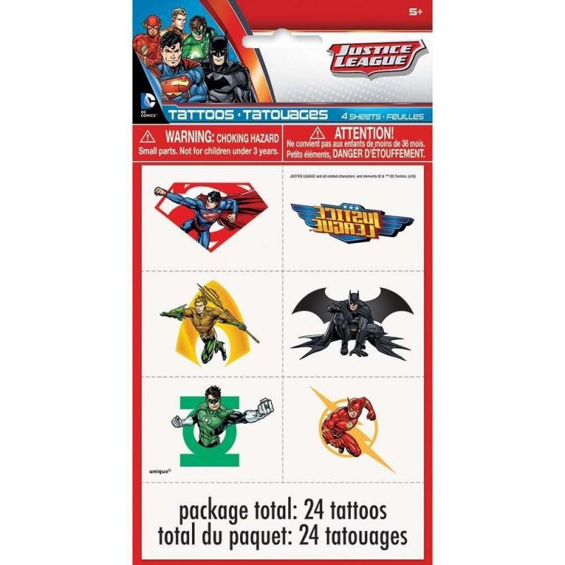 Justice League Tattoos (24)