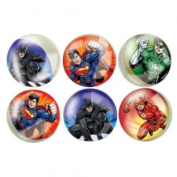 Justice League Bouncy Balls (Pack of 6)