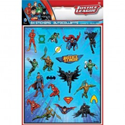 Justice League Stickers (Set of 84)