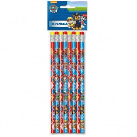 Paw Patrol Pencils (Set of 8)