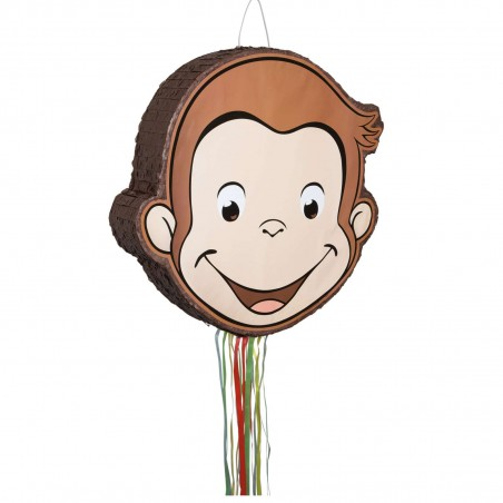 Curious George Pull String Pinata