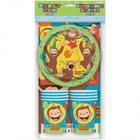 Curious George Party Pack (8 Guests)