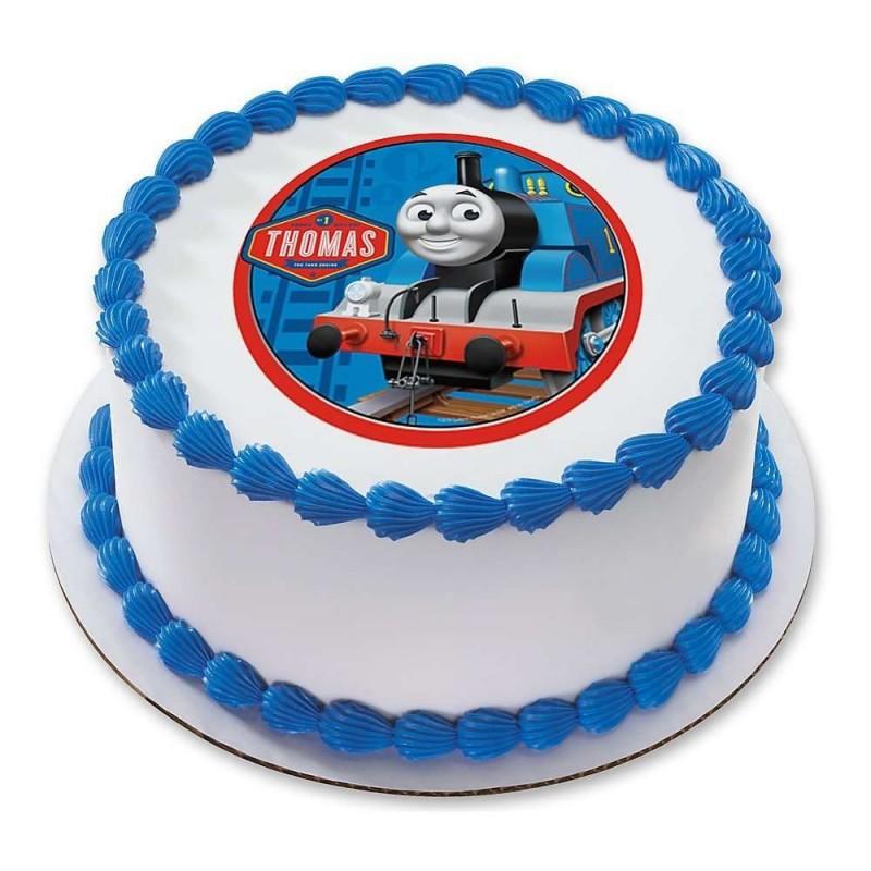 Thomas The Tank Engine Edible Cake Image Thomas The Tank Engine