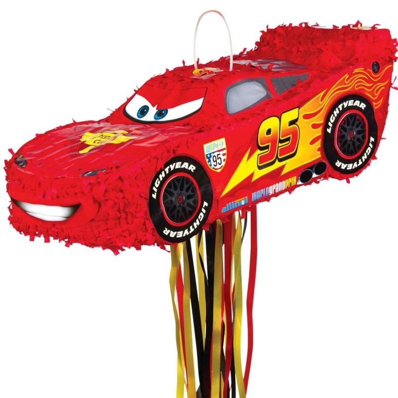 Cars 3 Lightning McQueen 3D Pull String Pinata