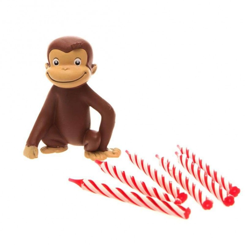 Curious George Birthday Candle Set Curious George Party