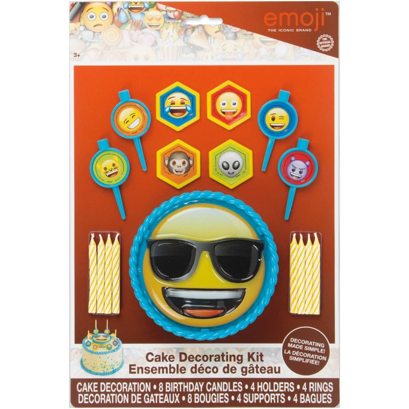 Emoji Cake Decorating Kit